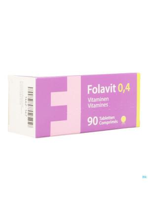 Folavit 0,4mg Tabl 90 X 0,4mg Cfr 37615171462167-20