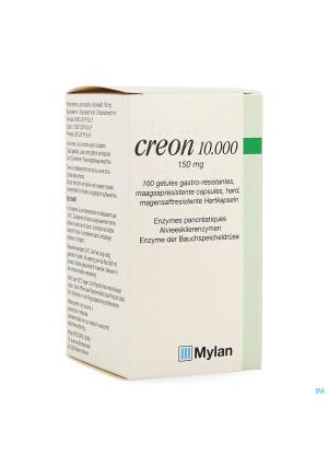 Creon 10000 Caps Maagsapresist Hard 100 X 150mg1481563-20