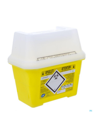 Sharpsafe Naaldcontainer 2l 41401543016-20