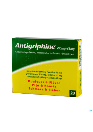 Antigriphine Comp 20 X 500mg1555846-20