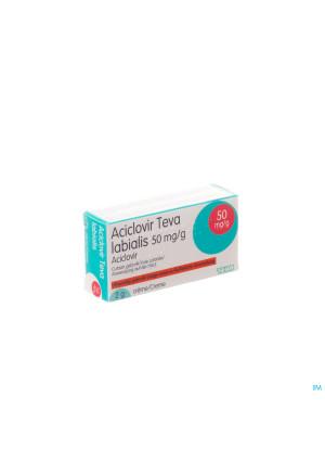 Aciclovir Teva Labialis Creme Tube 2g1563436-20