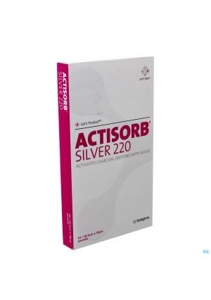 Actisorb Silver 220 Kp 19,0x10,5cm 10 Mas190de1569565-20