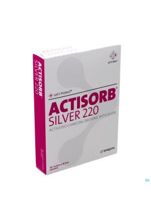 Actisorb Silver 220 Kp 9,5x 6,5cm 10 Mas065de1569607-20