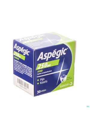 Aspegic 250 Pulv 30x 250mg1652064-20