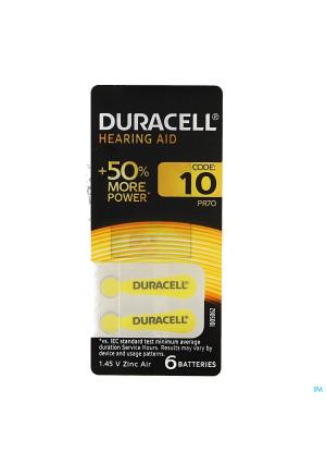 Duracell Easytab Hoorbatterij Da10 6 Geel1656628-20