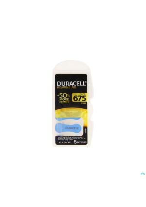 Duracell Easytab Hoorbatterij Da675 6 Blauw1656651-20