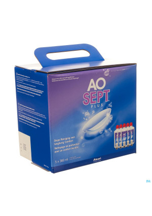 Aosept Plus 6 Maandpack 5x360ml1733104-20