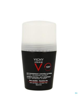 Vichy Homme Deo A/transp. 72u Roller 50ml2036259-20