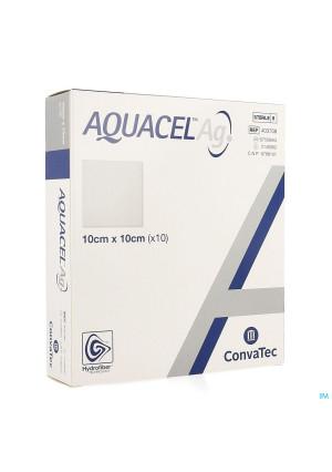 Aquacel Ag Verb Hydrofiber Ster 10x10cm 10 4037082048528-20