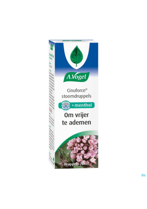 A.Vogel Cinuforce Stoomdruppels 20ml2083848-20