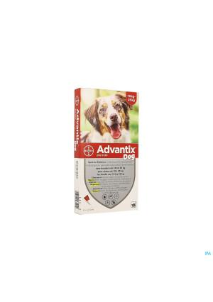 Advantix 250/1250 Honden 10<25kg Fl 4x2,5ml2087062-20