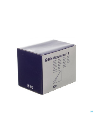 Bd Microlance 3 Naald 16g 1 1/2 Lavendel100 3006372105476-20