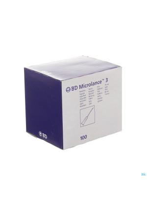 Bd Microlance 3 Naald 18g 1,2x40mm Rose 100 3019002105484-20