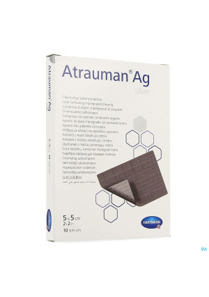 Atrauman Ag Ster 5x 5cm 102114924-20