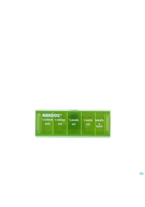Anabox Pilulier 1 Dag 5 Vakken Fr2181659-20