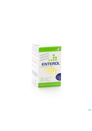 Enterol 250mg Caps Harde Dur 20 X 250mg2183051-20