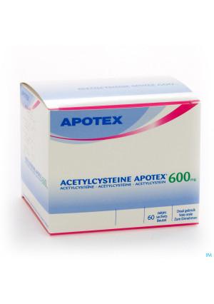 Acetylcysteine Apotex Sach 60 X 600mg2227007-20