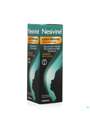Nesivine 0,025% Sine Conserv Ped Spray Nas 10ml2252104-20