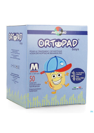Ortopad For Boys Medium Oogkompres 50 733222264463-20
