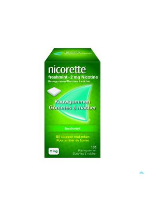Nicorette Freshmint Kauwgom 105x2mg2326056-20