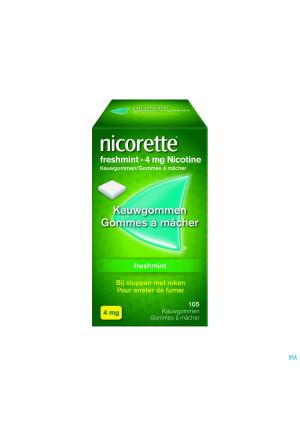 Nicorette Freshmint Kauwgom 105x4mg2326064-20