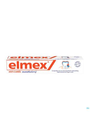ELMEX® MENTHOLVRIJ TANDPASTA TUBE 75ML2334902-20