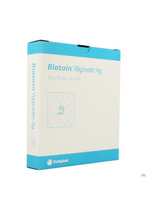 Biatain Alginate Ag Ster 10cmx10cm 10 37602363018-20