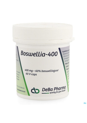 Boswellia Extract 400mg Caps 60 Deba2462125-20