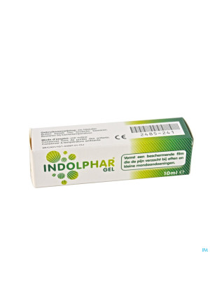 Indolphar Gel Tube 10ml2485241-20