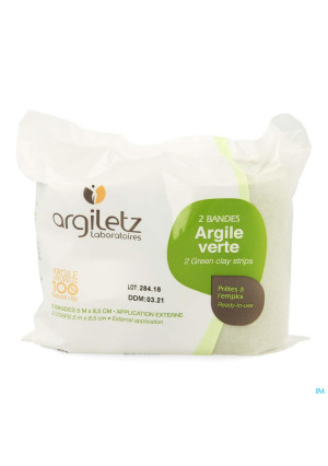 Argiletz Bandargil Band Groene Klei 5mx11cm 22487239-20