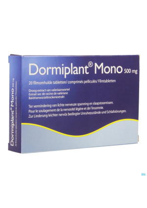 Dormiplant Mono 500 mg 20 tabletten 2539294-20