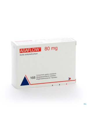 Asaflow 80mg Maagsapres Comp Bli 168x 80mg2542488-20