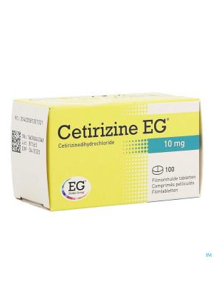 Cetirizine Eg Comp 100 X 10mg2544997-20