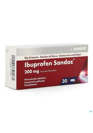 Ibuprofen Sandoz 200mg Comp Pell 30x200mg2568194-20