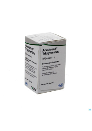 Accutrend Triglyceride Strips 25 115381440162572436-20