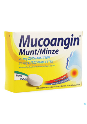 Mucoangin Munt Zuigtabletten 30x20mg2583748-20