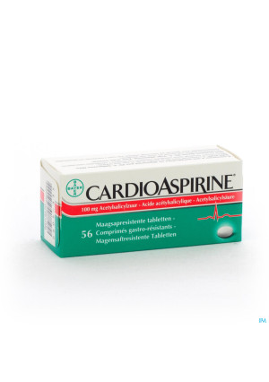 Cardioaspirine Maagsapresist. Tabl 56 X 100mg2605335-20