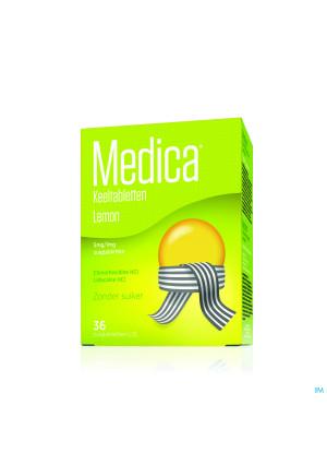 Medica Keeltabletten Lemon Zuigtabl 362639136-20