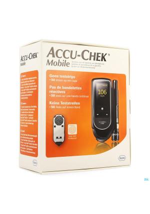 Accu Chek Mobile Startkit (50tests+meter+prikker)2676781-20