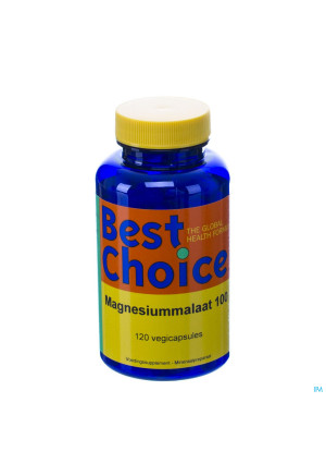 Best Choice Magnesiummalaat 500 V-caps 120 Nl2700607-20