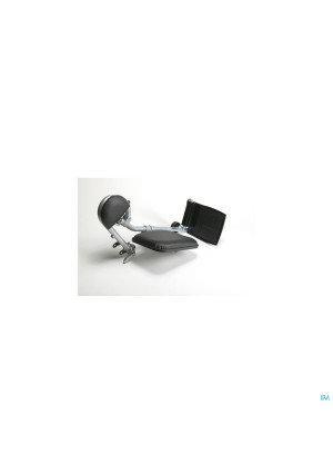 Beensteunen Opklapb.rolstoel Volw 1paar Vermeiren2711505-20