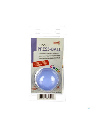 Sissel Press Ball Medium Blauw2722999-20