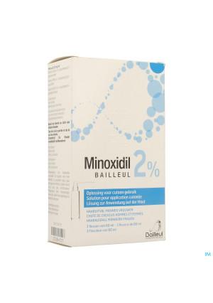 Minoxidil Biorga 2% Opl Cutaan Koffer Fl 3x60ml2728517-20