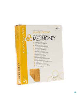 Medihoney Wondverb A/bact.honing Algin. 10x10cm 52738367-20