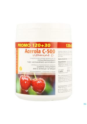 Acerola 500 Tabl 120+30 Gratis2749331-20
