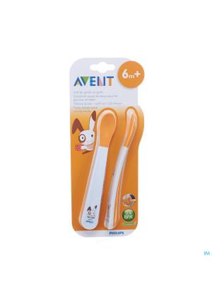 Philips Avent Zachte Voedingslepel +6m 2 SCF710/002767416-20