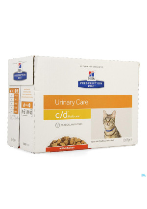 Hills Prescrip.diet Feline Cd Maaltijdzakje 12x85g2769479-20