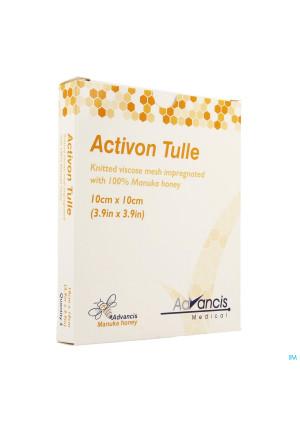 Activon Tulle Verband N/adh 10x10cm 52789915-20