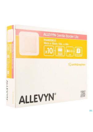 Allevyn Gentle Border Lite 10,0x10,0cm 10 668008352825784-20