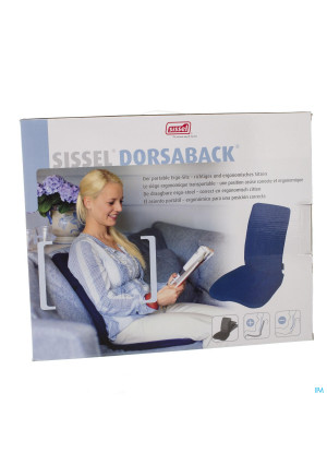 Sissel Dorsaback-pad Rugsteun+assise Zwart2827087-20